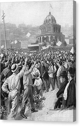 Aodng Canvas Print - Public Acclamation, 1895 by Granger