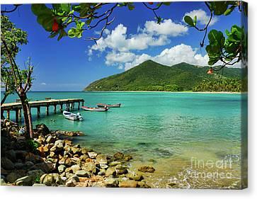 Puerto Manuabo 1 - Puerto Rico Canvas Print by JH Photo Service
