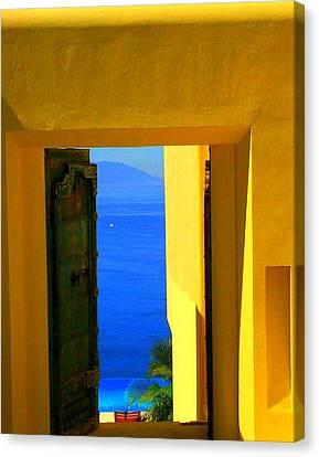 Puerto Vallarta Portal Canvas Print