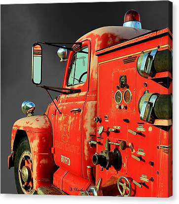 Pumper No. 2 - Retired Canvas Print by Betty Northcutt