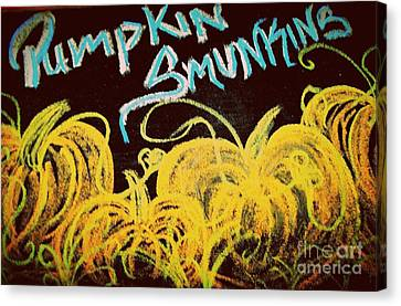Pumpkins Smunkins Canvas Print by Jackie Bodnar