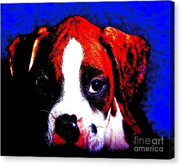 Pup1 Canvas Print by Xn Tyler