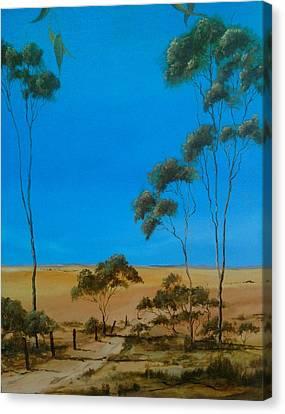 Pure Australia Canvas Print by Paul Morgan