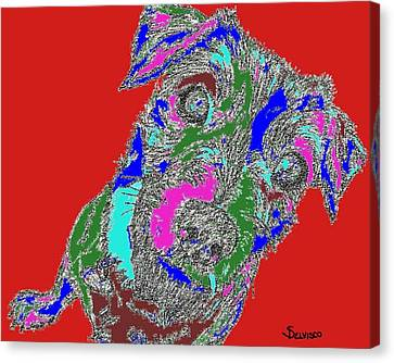 Pure Energy Canvas Print by Salvadore Delvisco
