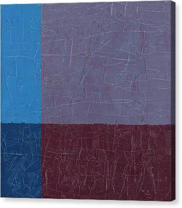 Purple And Blue Canvas Print by Michelle Calkins