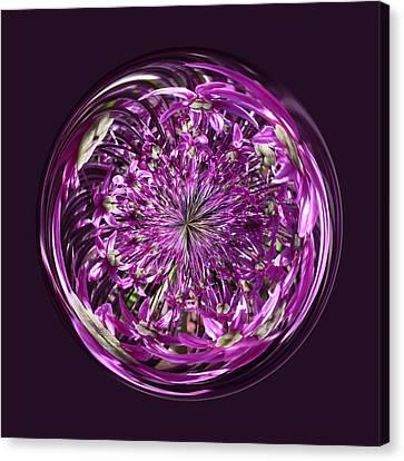 Purple Chaos Canvas Print by Robert Gipson