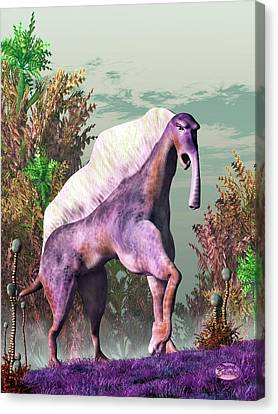 Purple Fantasy Creature Canvas Print