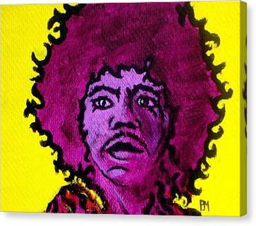 Purple Haze Day Canvas Print by Pete Maier