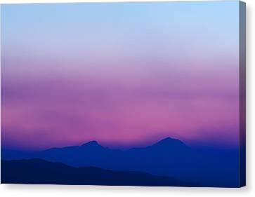 Purple Haze Canvas Print by Kevin Bone