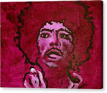 Purple Haze Canvas Print by Pete Maier