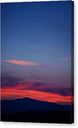 Purple Mountain Canvas Print by Kevin Bone