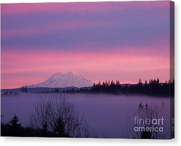 Purple Mountain Majesty Canvas Print by Chalet Roome-Rigdon