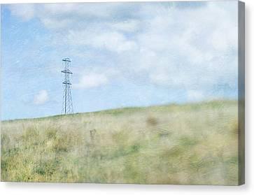 Pylon Canvas Print by Jill Ferry