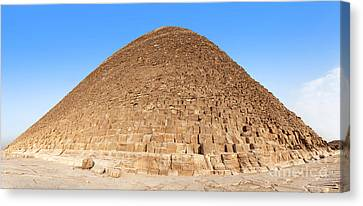 Pyramid Giza. Canvas Print by Jane Rix