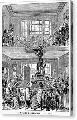 Quaker Meeting House Canvas Print by Granger