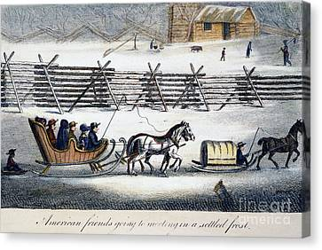 Quakers Canvas Print by Granger