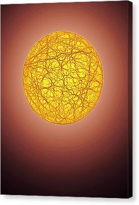 Quantum Waves Canvas Print by Eric Heller