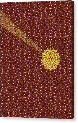 Quasicrystal Canvas Print by Eric Heller
