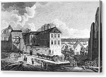 Quebec: Ruins, 1761 Canvas Print by Granger