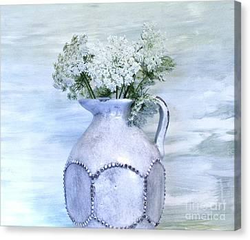 Queen Annes Lace Canvas Print by Marsha Heiken