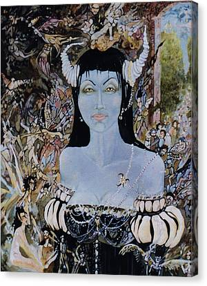 Canvas Print - Queen Mab 1 by Jackie Rock