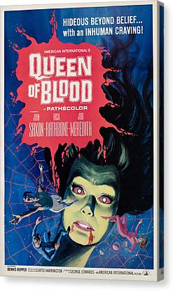 Queen Of Blood, Florence Marley, 1966 Canvas Print by Everett