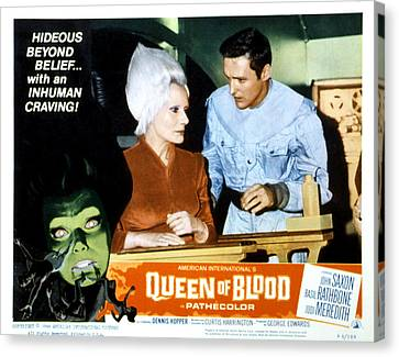 Queen Of Blood, Lobbycard, Florence Canvas Print by Everett