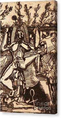 Queen Of Life Canvas Print by Robert Daniels