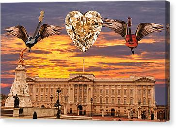 Queen Rocks Canvas Print by Eric Kempson