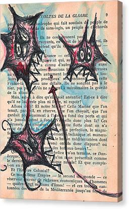 Qui Fait Canvas Print by Jera Sky
