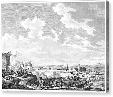 Quiberon Expedition, 1795 Canvas Print by Granger