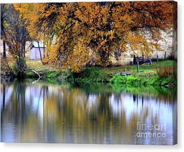 Quiet Autumn Day Canvas Print by Carol Groenen