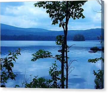 Quiet Lake Canvas Print by Sarah Buechler