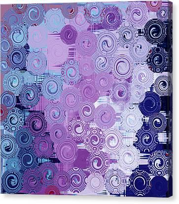 Quilt Seeds No3 Canvas Print by Bonnie Bruno