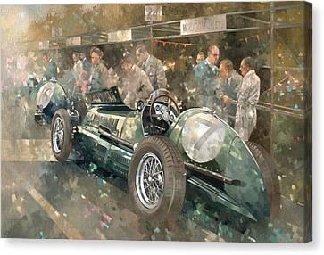 R. Parnell's Maserati  Canvas Print