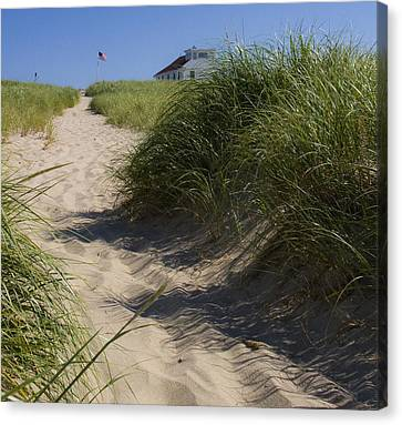 Canvas Print featuring the photograph Race Point by Michael Friedman