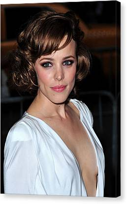 Rachel Mcadams At Arrivals For The Time Canvas Print by Everett