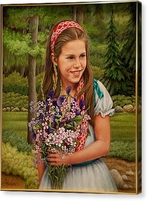 Canvas Print - Rachel by Ruth Gee