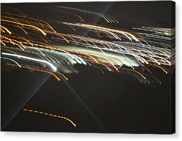 Racing Light Canvas Print by Naomi Berhane