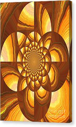 Radiating Warmth And Light Canvas Print by Carol Groenen