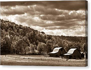 Raging Skies Canvas Print by Douglas Barnett