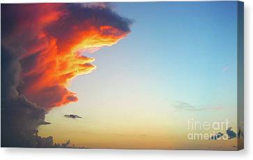 Raging Sky Canvas Print by Michael Waters