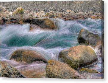 Raging Waters Canvas Print by Naman Imagery