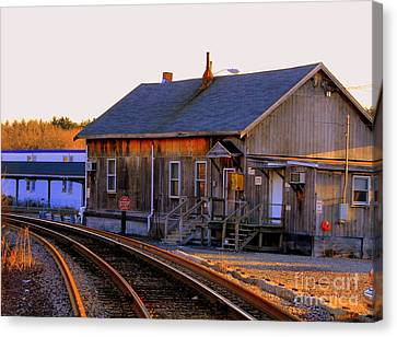 Railway  House Canvas Print