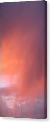 Rain At Sunset Canvas Print by Alissa Beth Fox