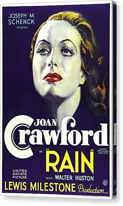 Rain, Joan Crawford, 1932 Canvas Print