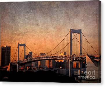 Rainbow Bridge Canvas Print by Eena Bo