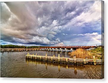 Rainbow Bridge Canvas Print by Kelly Reber