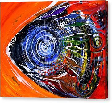 Rainbow Left ... Again Canvas Print by J Vincent Scarpace