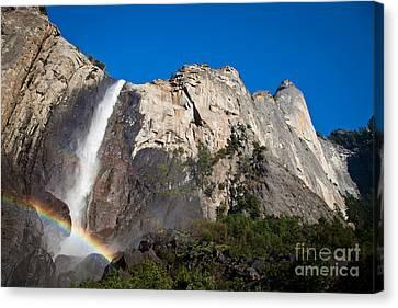 Rainbow On Bridalveil Fall Canvas Print
